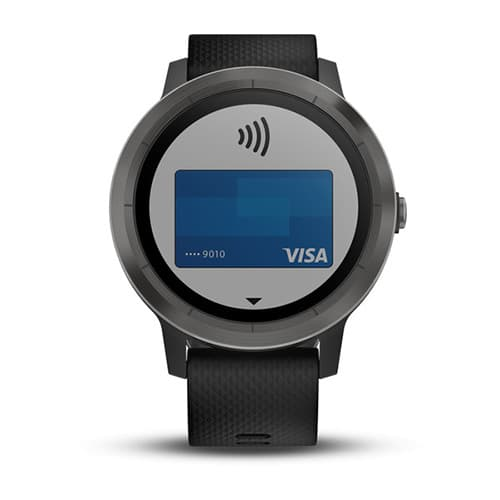 Garmin Vivoactive 3 Black with Slate Hardware
